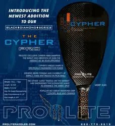 Prolite Cypher paddle