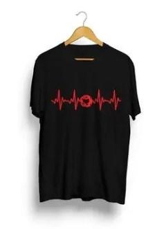 pickleball t-shirt heart design