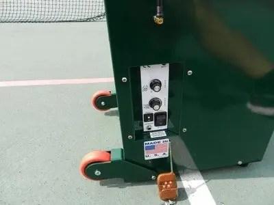wheels on simon 2 pickleball machine