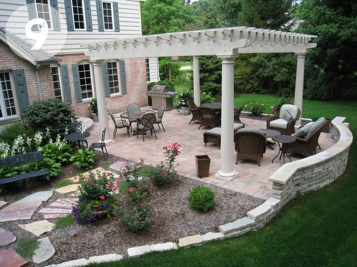 12 Dreamy Back Yard Ideas inspiration - Picklee on Back Garden Patio Ideas id=57623