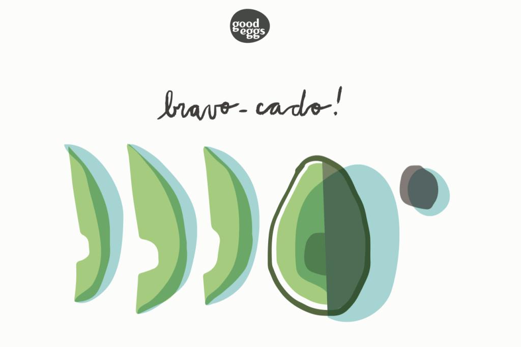 avocado gif