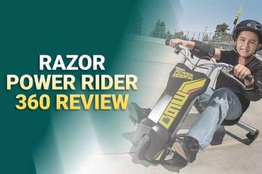 Best Razor Power Rider 360 Reviews – 3 Wheel Electric Trike Bike