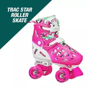 Roller Derby Trac Star Adjustable Roller Skate