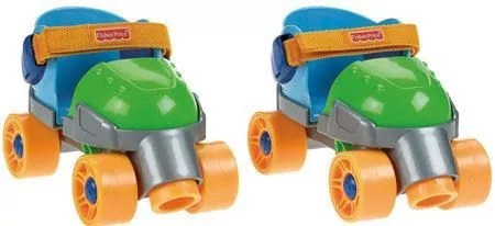 Fisher-Price 1, 2, 3 Green Roller Skate