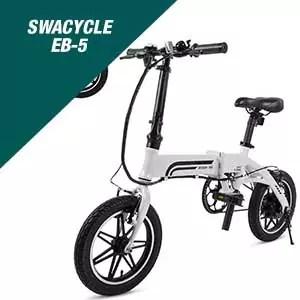 Swagtron Swagcycle Eb-5 Folding Ebike