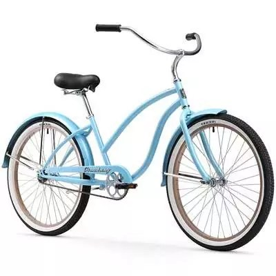 Firmstrong-Chief-Lady-Beach-Cruiser-Bicycle,-26-Inch