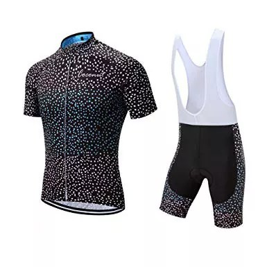 Men's Cycling Road Bike Jersey Set with Short Sleeves