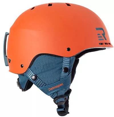 Retrospec Traverse H2 2-in-1 Convertible Snow Helmet