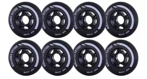 Rollerex VXT500 Inline Skate / Rollerblade Wheels