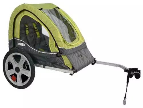 InStep Foldable Single Seat and Double Seat Tow Behind Bike Trailers