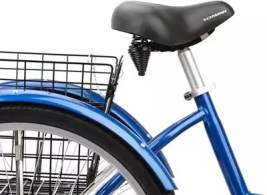 schwinn meridian tricycle seat