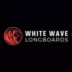 White Wave longboard
