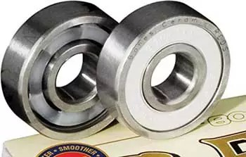 Bones Ceramic Super Reds Skateboard Bearings
