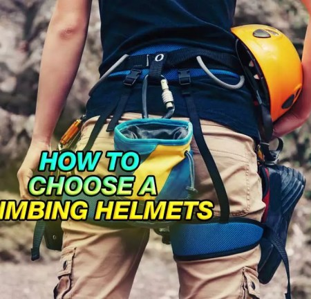 How To Choose A Climbing Helmet