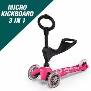 Micro Kickboard - Mini 3in1 Deluxe