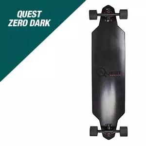 Quest Skateboards Zero Dark Longboard