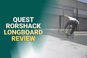 Quest Rorshack Bamboo Longboard Skateboard Review