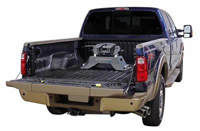 hidden truck hitch