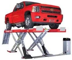 Scissor truck lift