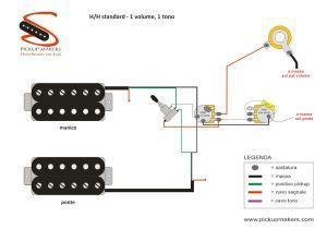 Schema Collegamento Humbucker: Schéma pour splitter les humbucker sur une config hsh Schema