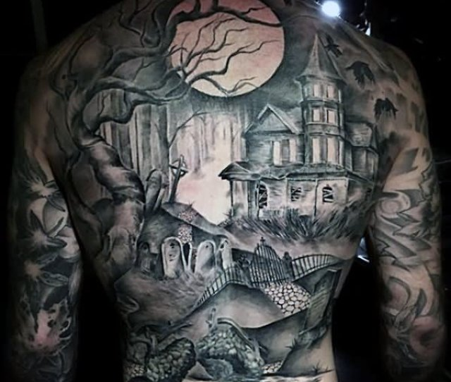 Unique Back Tattoos For Men