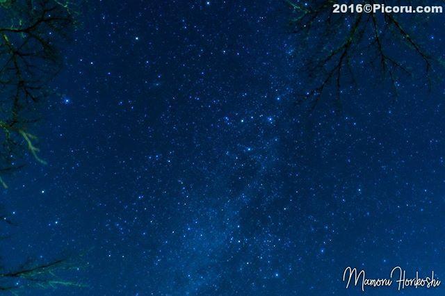 晴れたら星を撮りに行こう!