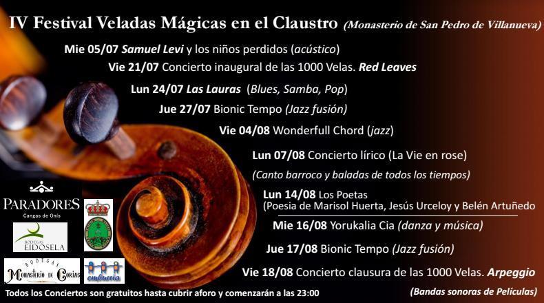 IV Festival Veladas Mágicas