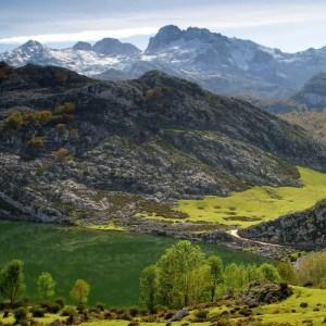 Lago Enol Los Lagos de Covadonga. Picos de Europa