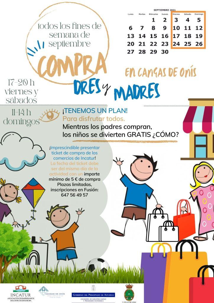 cartel Compra-dres y madres