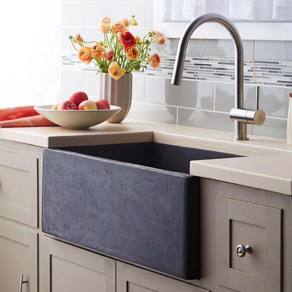 Modern Farmhouse Kitchen Sink Ideas For Your Home   Design ... on Farmhouse Kitchen Sink Ideas  id=83369