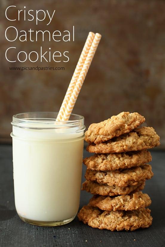 crispyoatmealcookies