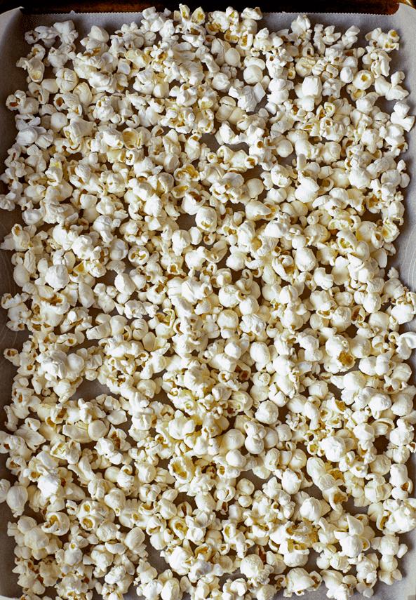 Popped Plain Popcorn