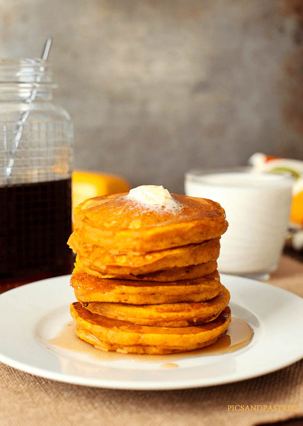 Pumpkin Buttermilk Pancakes