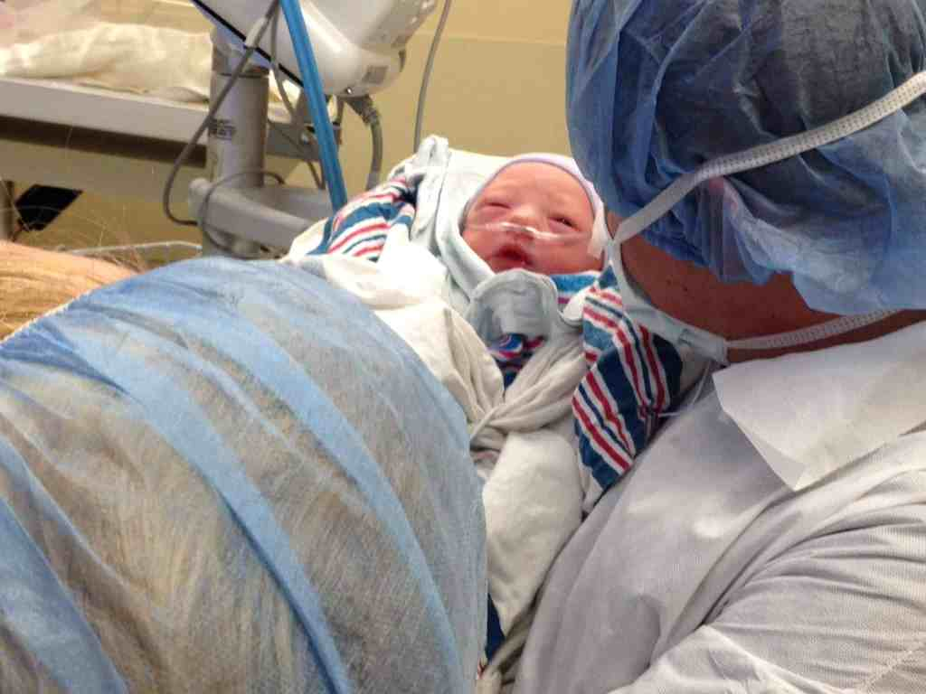 Welcome Baby Grayson: A Birth Story-part 2