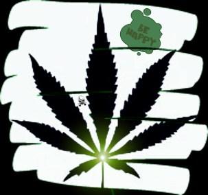 marijuana Blatt