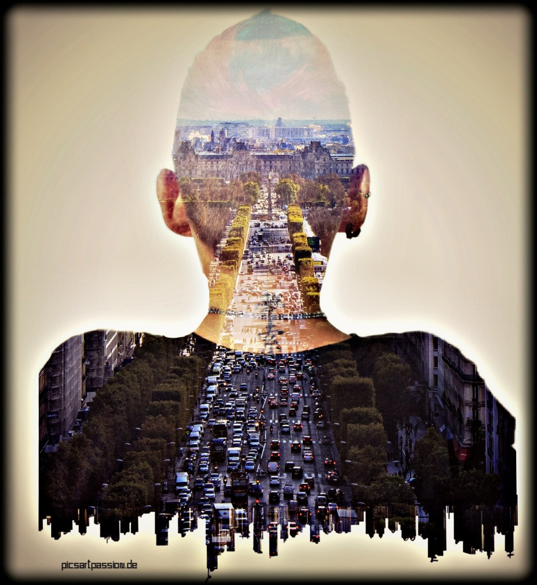 selfie editing  - Double Exposure - #MadeWithPicsArt
