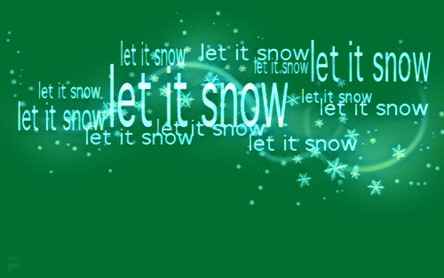 Let it Snow - Background