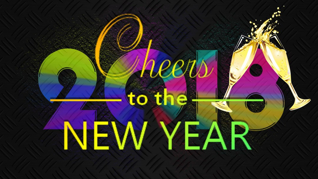 Cheers To The Year 2018