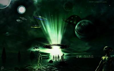 Daily Inspiration 'Alien Land' #MadeWithPicsArt