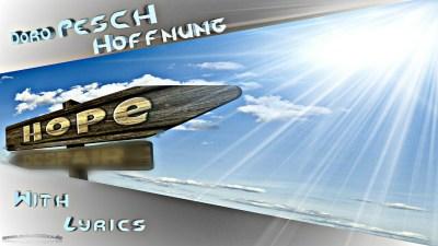 Doro Pesch - Hoffnung With Lyrics On Screen #MadeWithPicsArt