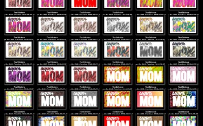 TextStickers – Mama / Mother – #1