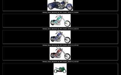 Stickers – Motorbike #1