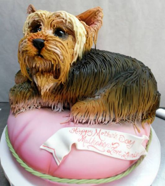 dog cake scuplture 5