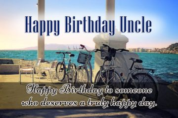 Happy Day Happy Birthday Uncle Image