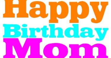 Happy Birthday Mom Greeting Image