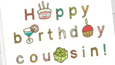 31 Amazing Cousin Birthday Wishes Greetings Graphics