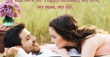 Lover Say Birthday Wishes Quotes Image