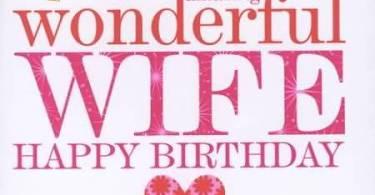 Wife Birthday Greetings