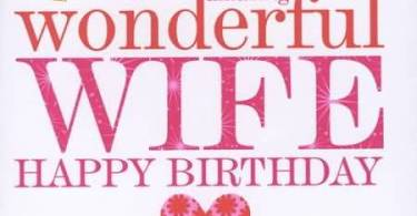 Wife Birthday Greetings