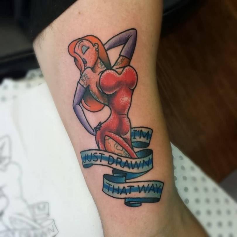 Animated Sleeve Tattoo